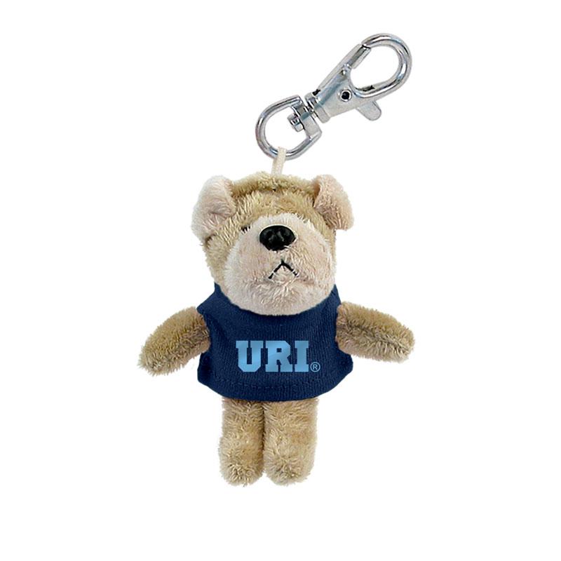 URI Bulldog Keychain