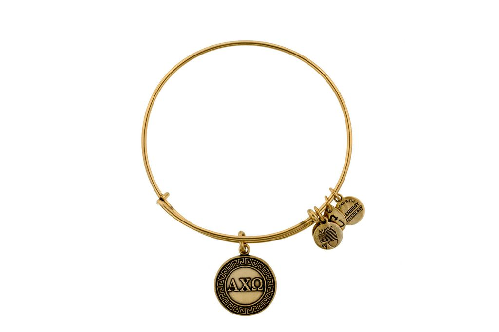 Image For Alpha Chi Omega Alex & Ani Bracelet