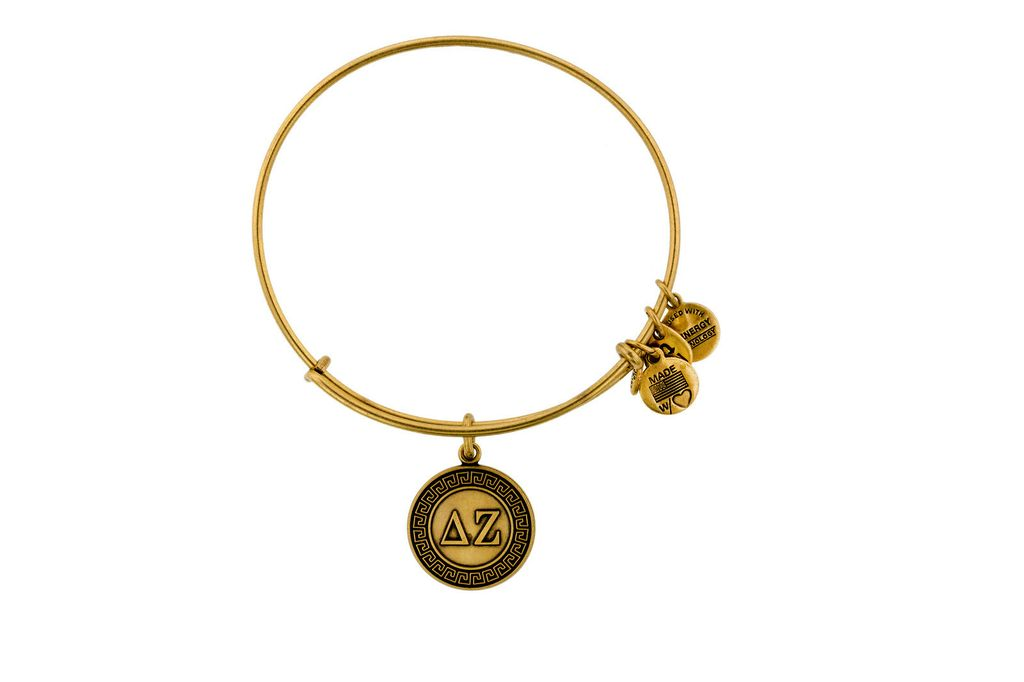 Cover Image For Delta Zeta Alex & Ani Bracelet