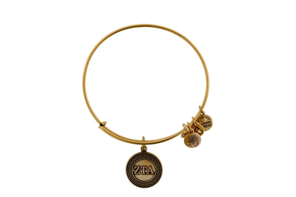 Cover Image For Zeta Tau Alpha Alex & Ani Bracelet