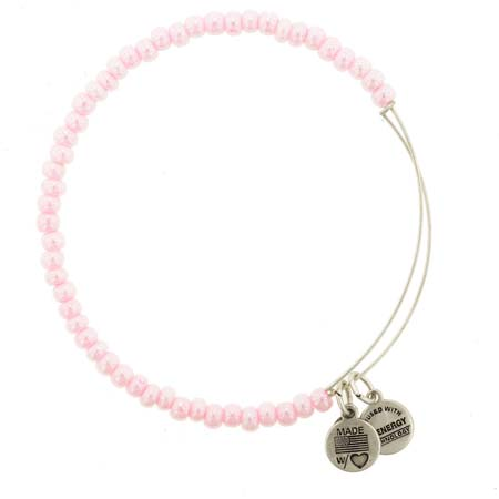Cover Image For Pink Beaded Alex & Ani Bracelet