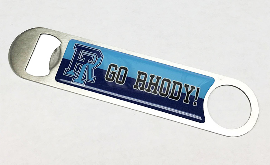 Image For Go Rhody Bottle Opener