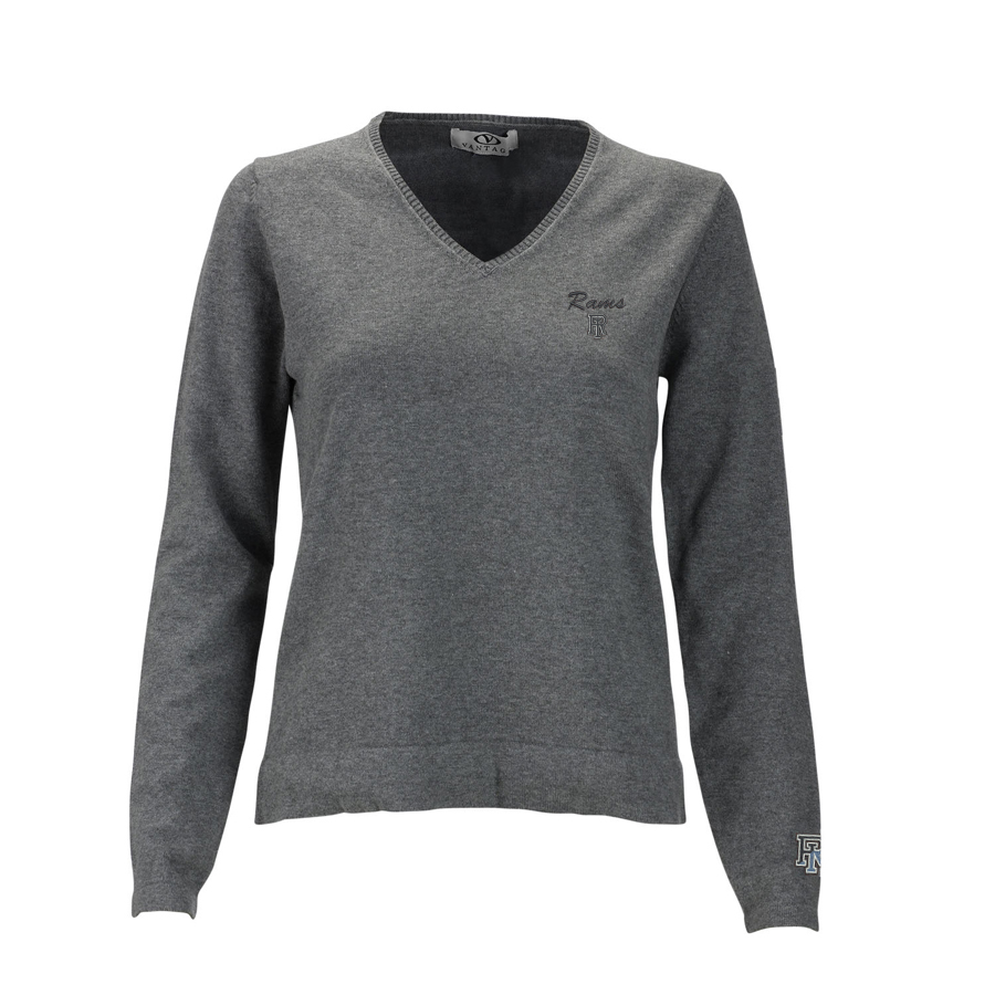 Cover Image For Vantage Women's V-Neck Sweater
