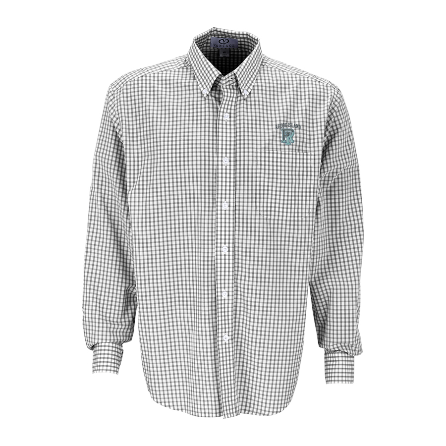 Image For Vantage Gingham Check Shirt