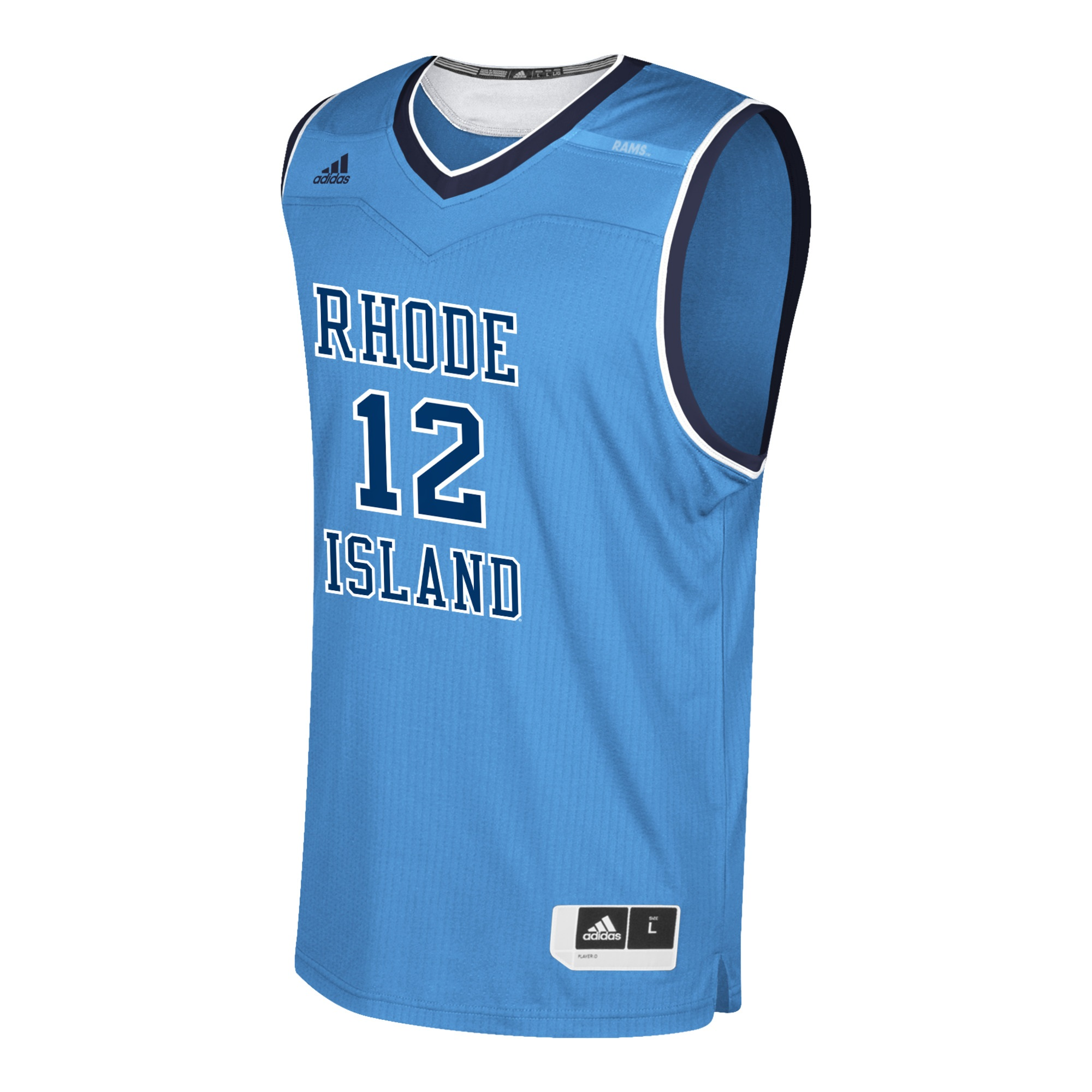 Image For Adidas #12 Custom Basketball Jersey