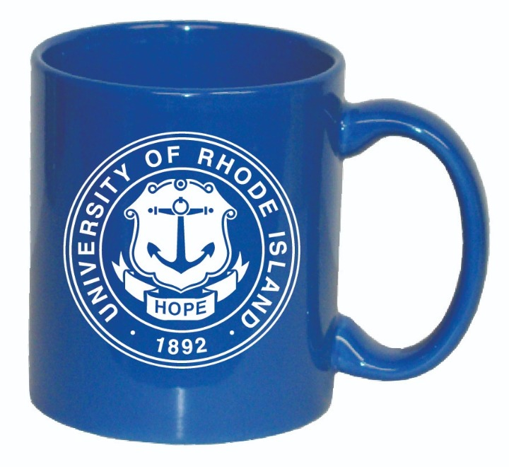 Cover Image For Ocean Blue Seal Mug