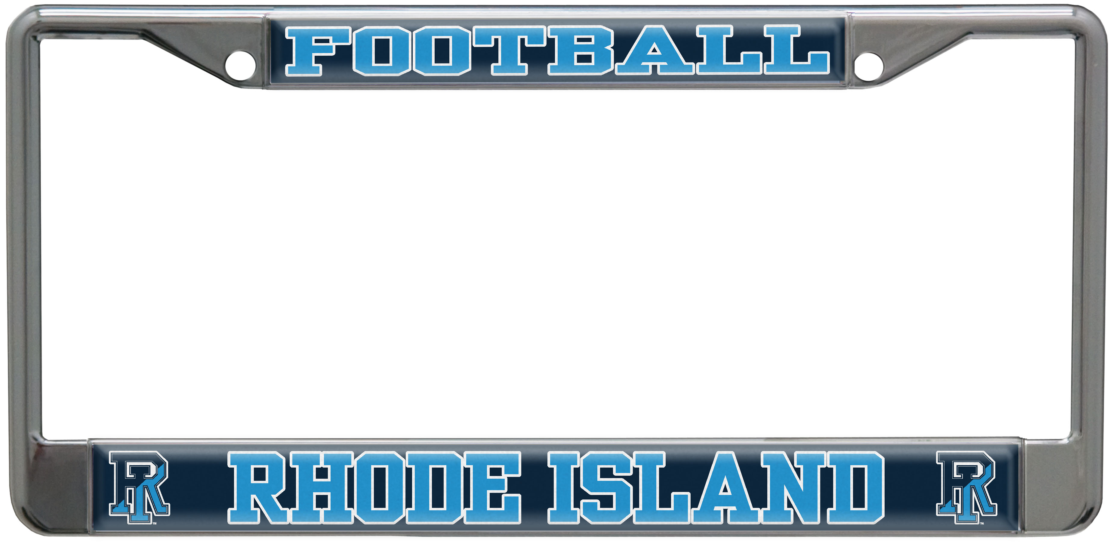 Image For Football License Plate Frame