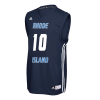 Cover Image for Adidas #10 Navy Basketball Jersey