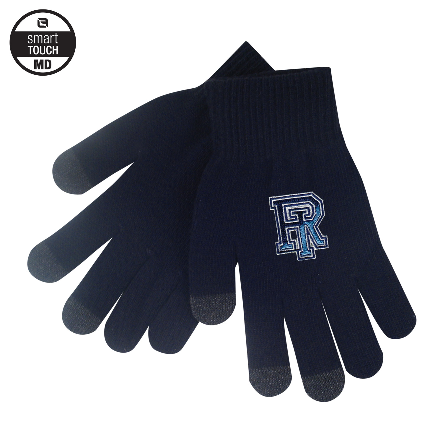 Image For Logofit Smart Touch Medium Knit Gloves