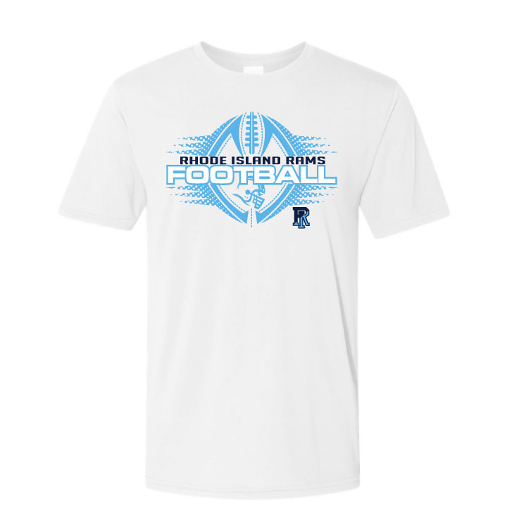 Cover Image For Gildan Football Short Sleeve Tee