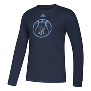 Image For Adidas Basketball Icon Amplifier Long Sleeve