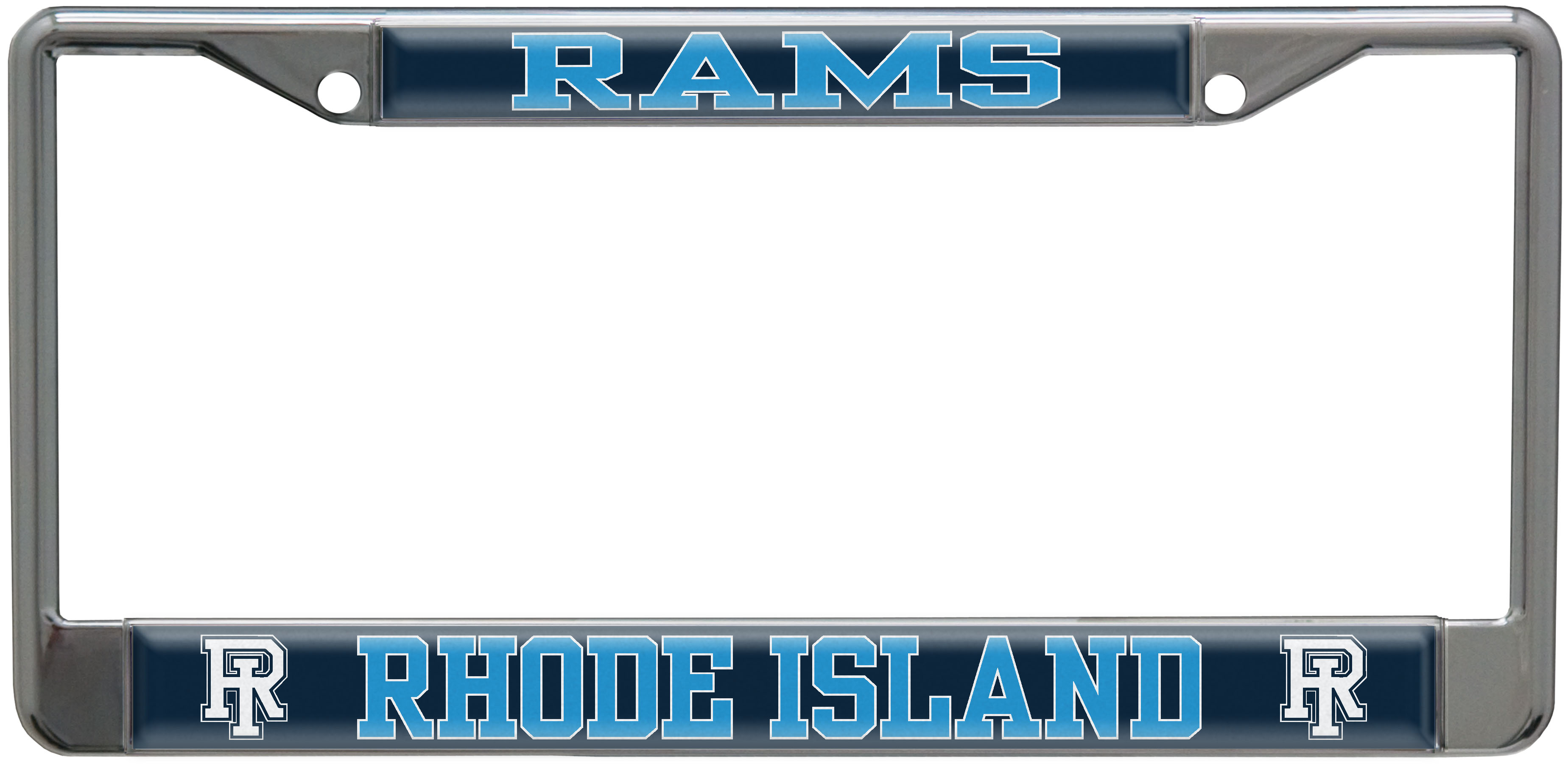 Image For Rams License Plate Frame