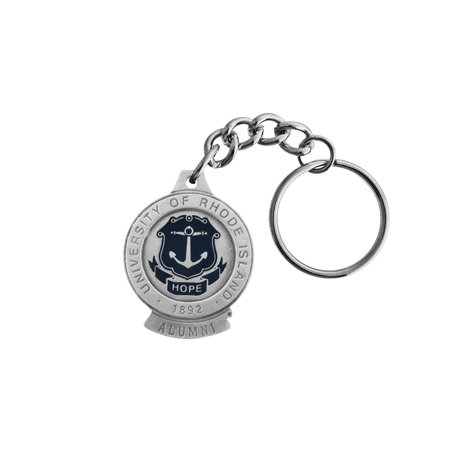 Image For Pewter Seal Alumni Keychain
