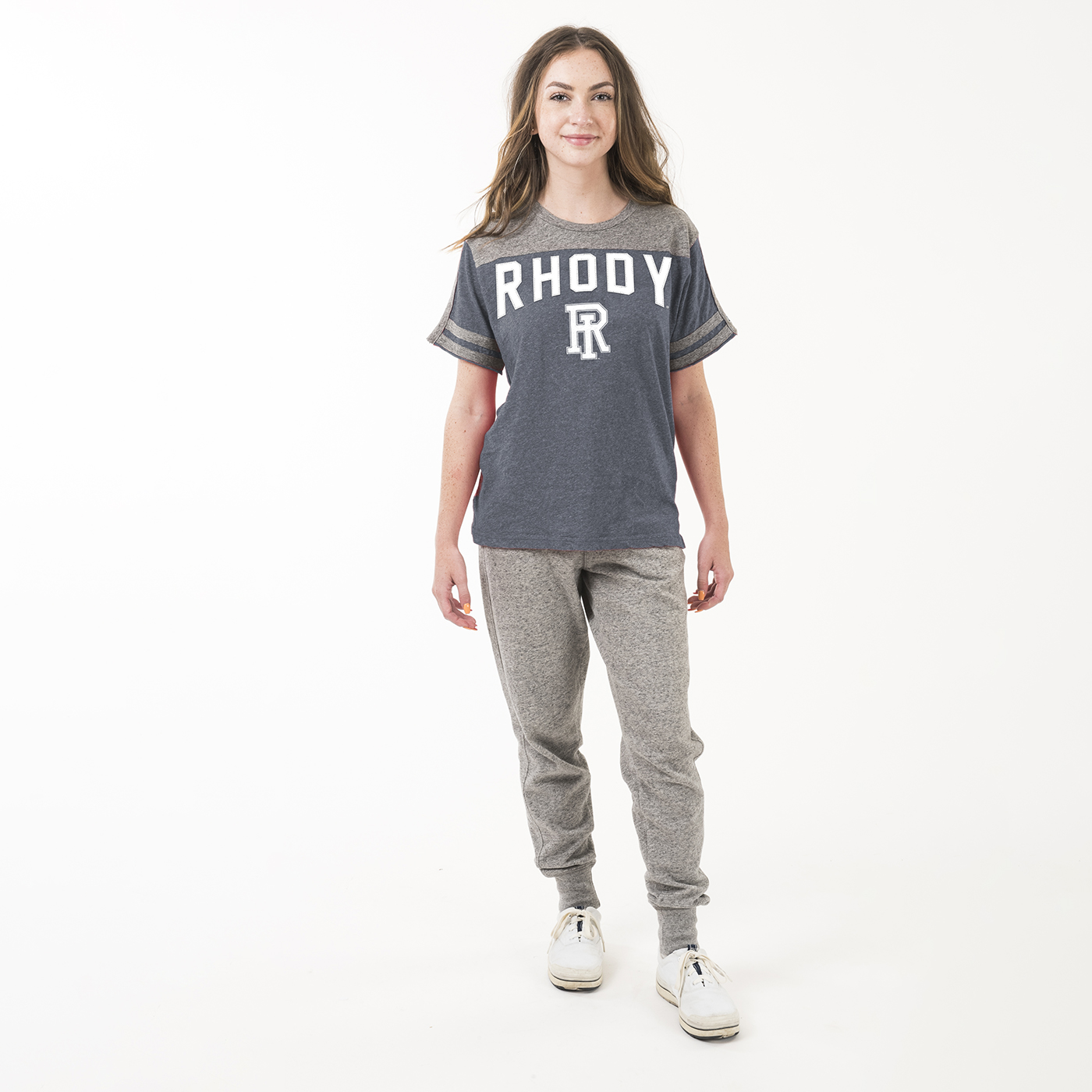 Image For American Collegiate Football Crew Neck Tee
