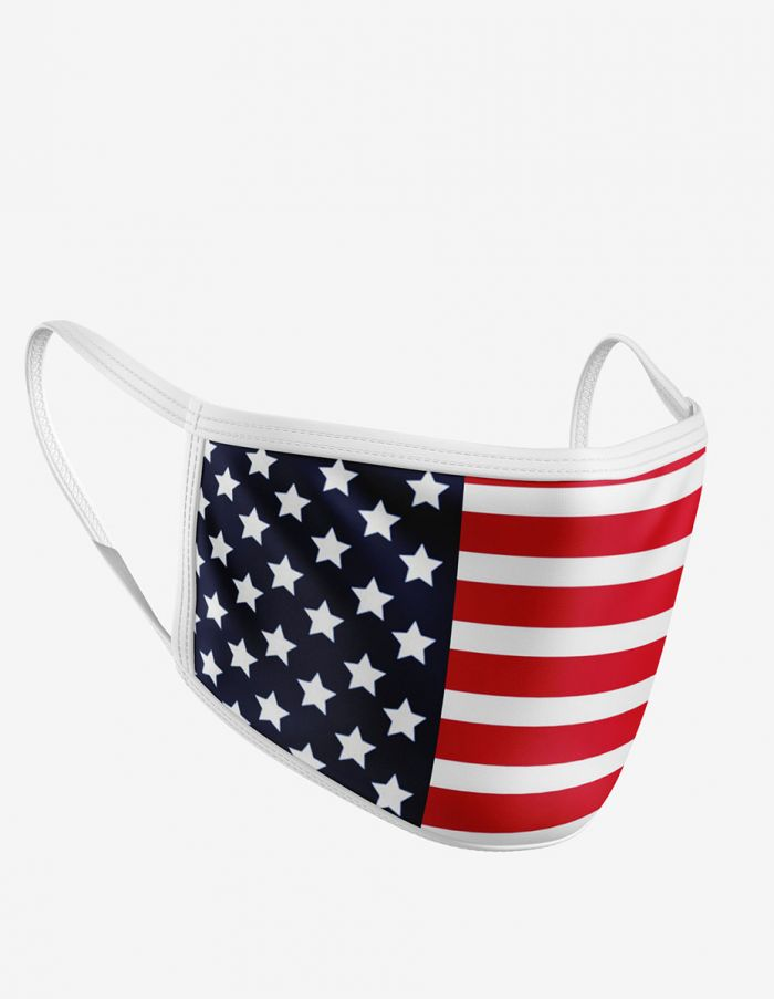 Image For American Flag Mask