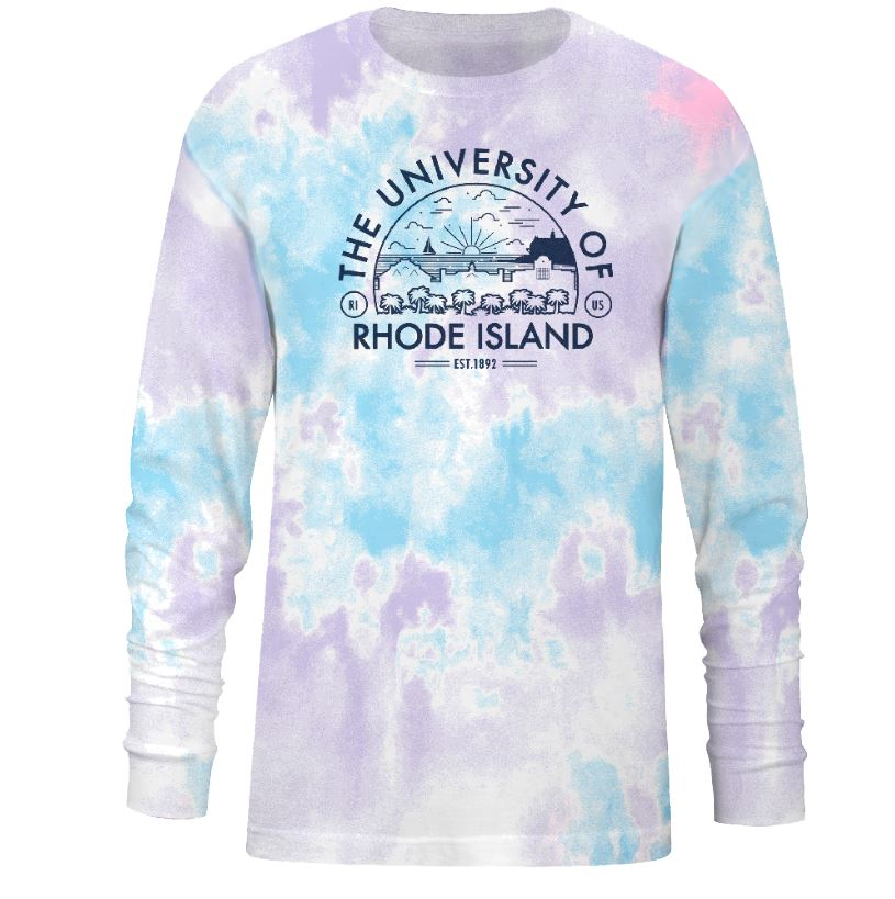 Image For DS UScape Pastel Tie Dye Long Sleeve